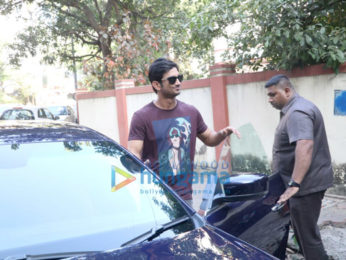 Sushant Singh Rajput spotted at Coco Club in Bandra