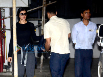 Sushmita Sen snapped at a clinic