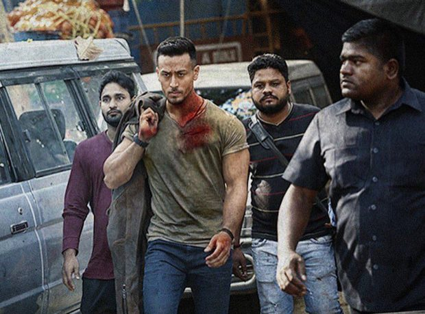 This blood stained look of Tiger Shroff