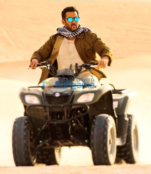 Tiger Zinda Hai Check out Salman Khan riding quad bike in Abu Dhabi's Liwa Desert like a boss!