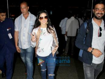 Varun Dhawan, Ed Sheeran and others snapped at the airport