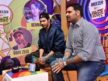 Varun Dhawan at Breezer bash