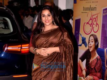 Vidya Balan graces the screening of the film 'Tumhari Sulu'