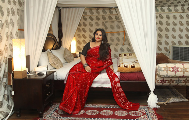 WHOA! Vidya Balan stays at PM Narendra Modi's bullet proof tent at Rann Festival