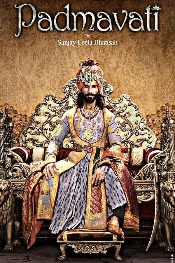 WOW! Check out Shahid Kapoor's regal look in new still of Padmavati