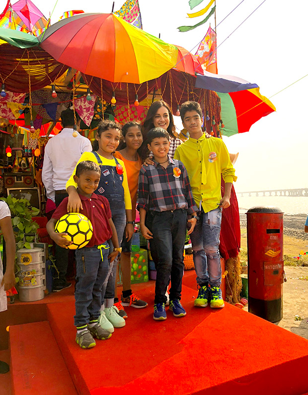 WOW! Dia Mirza celebrates Children's Day with kids from Scrappy News Service (2)