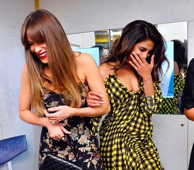 WOW! Priyanka Chopra stuns with Sofia Vergara at a Stop