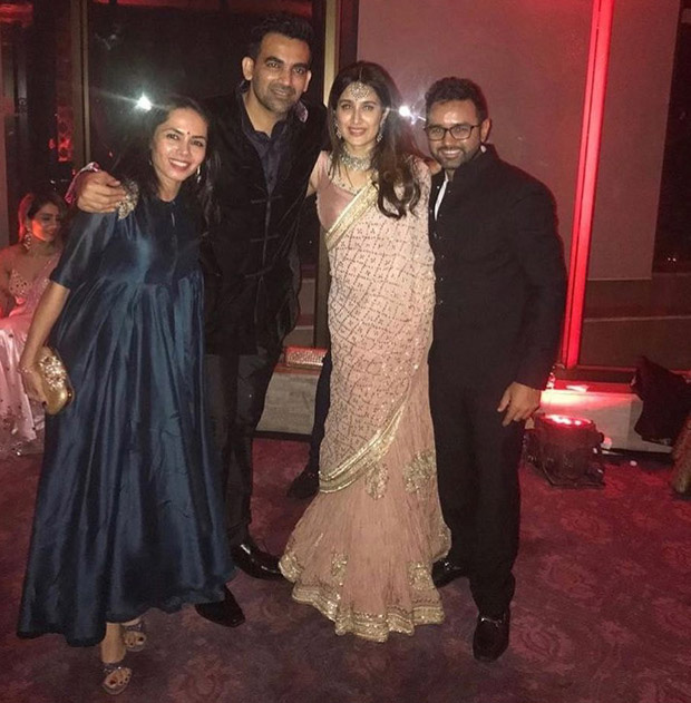 Sagarika Ghatge -Zaheer Khan Throw A Starry Wedding Party