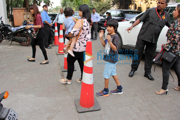 Emraan Hashmi son snapped with mom at Otters Club