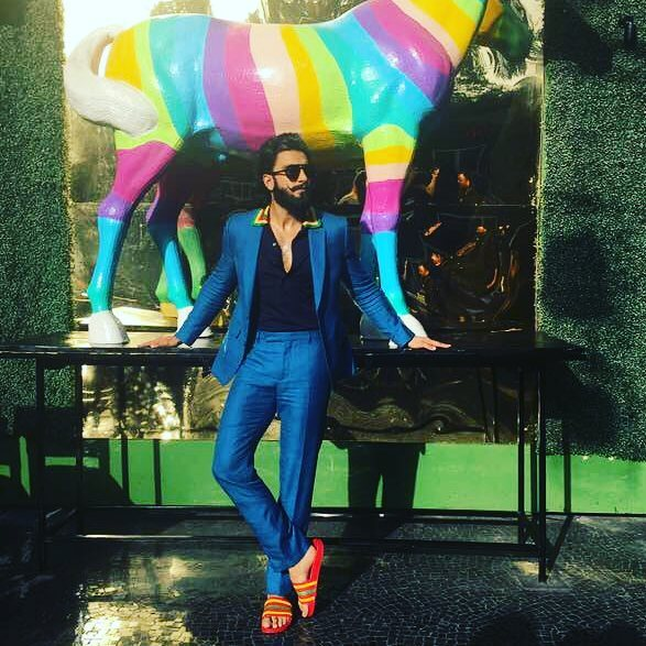 #2017TheYearThatWas When Ranveer Singh blazed his way with a whimsical and sartorial drama!9
