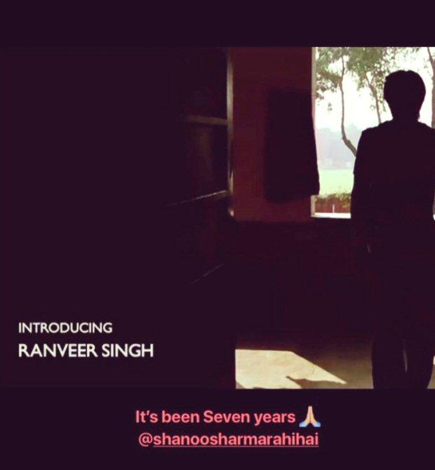7 Years of Ranveer Singh Ranveer thanks casting director Shanoo Sharma for Band Baaja Baaraat1