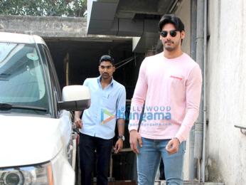 Ahaan Shetty snapped in Mumbai