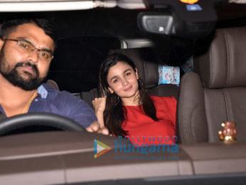Alia Bhatt and Varun Dhawan snapped in Mumbai