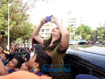 Alia Bhatt graces the sports meet of the Jamnabai School for special Children