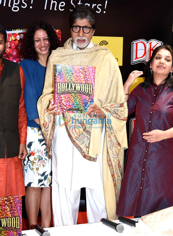 Amitabh Bachchan graces the launch of the book 'Bollywood'