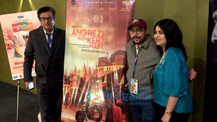 On The Sets Of The Movie Angrezi Mein Kehte Hain