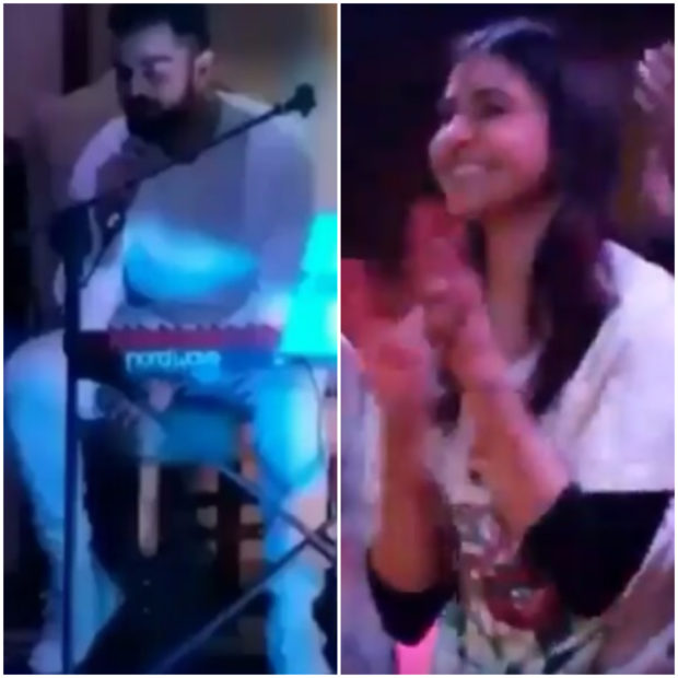 Anushka Sharma cheers for Virat Kohli