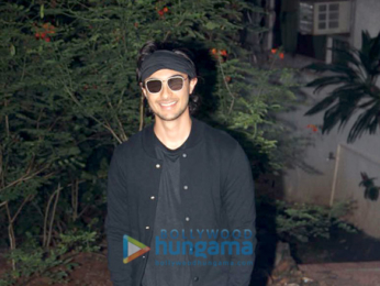 Aayush Sharma spotted at his dance class