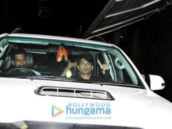Bipasha Basu and Karan Singh Grover snapped at Hinduja Hospital in Khar