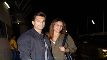 Bipasha Basu and Karan Singh Grover snapped in Bandra