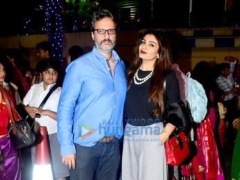 Bollywood stars attend the Annual Day celebrations at Dhirubhai Ambani International School