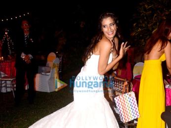 Celebs grace Gaelyn Mendonca's wedding reception