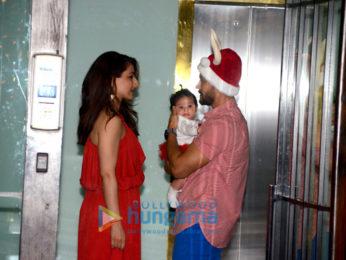 Celebs grace at Arpita Khan's Christmas bash