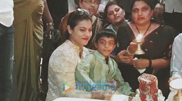 Check out Kajol takes son Yug and family to seek blessings at Siddharoodh Mutt Kajol is a doting mother and a actress spends as much time as possible with her kids and family whenever not working. On Thursday, Kajol to