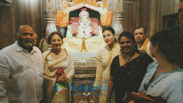 Check out Kajol takes son Yug and family to seek blessings at Siddharoodh Mutt Kajol is a doting mother and a family person. The actress spends as much time as possible with her kids and family whenever not w