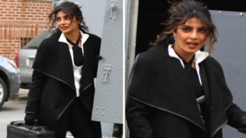 Check out Priyanka Chopra beats the cold weather on the sets of Quantico in NYC