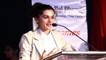Check out Taapsee Pannu visits her alma mater in Delhi
