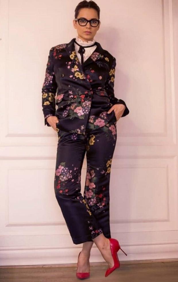 Daily Style Pill Kangana Ranaut rocks the fall florals like a total boss lady! (4)