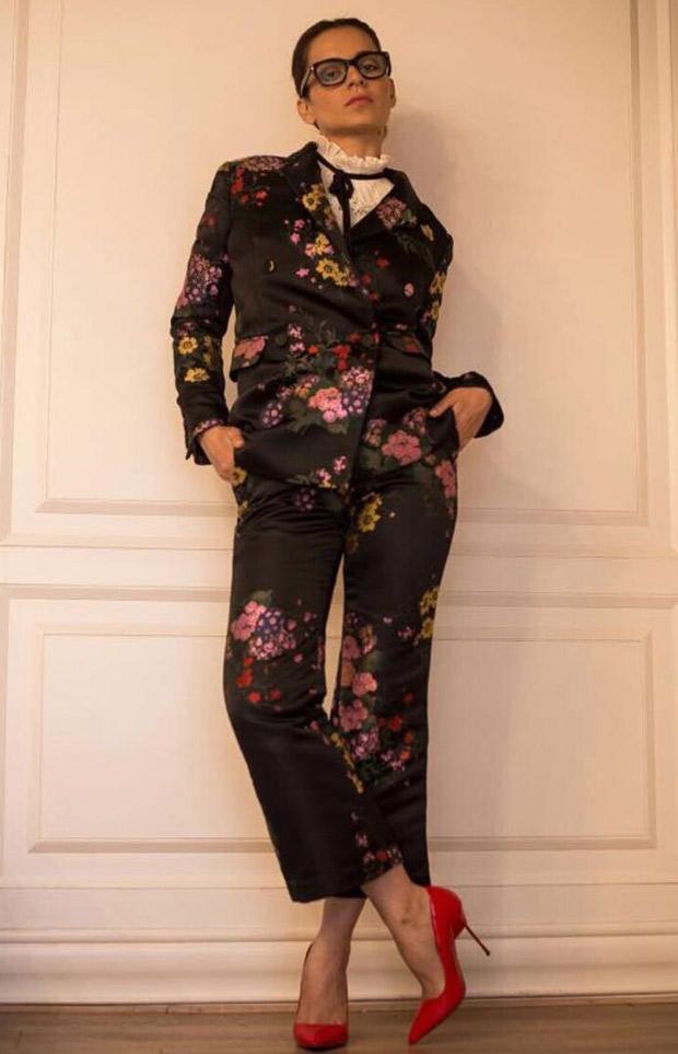Daily Style Pill Kangana Ranaut rocks the fall florals like a total boss lady! (7)