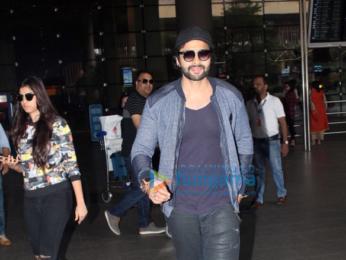 Deepika Padukone and Jackky Bhagnani snapped at the airport