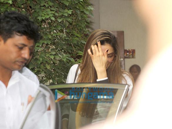 Deepika Padukone snapped post salon session