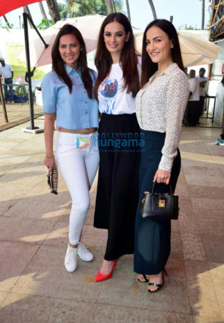 Evelyn Sharma, Elli AvrRam at 'Seams For Dreams' Christmas Garage Sale