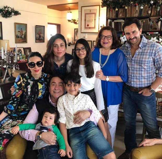 INSIDE PHOTOS Taimur Ali Khan was the star at the Kapoors' annual Christmas Lunch (4)