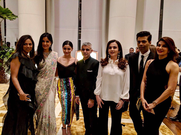 INSIDE PICS From Amitabh Bachchan to Shah Rukh Khan, film stars bond with Mayor of London at the Ambani bash