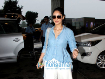 Ileana D'Cruz and Arbaaz Khan snapped at the airport