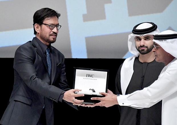 Irrfan Khan felicitated alongside the likes of Patrick Stewart and Cate Blanchett at the Dubai International Film Festival (3)