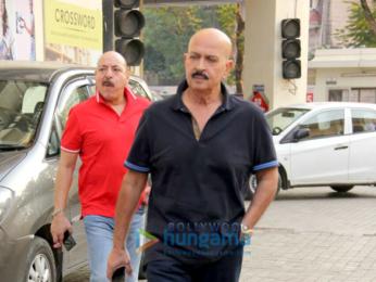 Jitendra and Rakesh Roshan spotted at juhu pvr