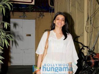Kajal Aggarwal spotted at Bandra
