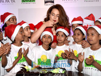 Kangana Ranaut attends an event of Smile Foundation