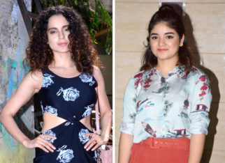 Kangana Ranaut supports Zaira Wasim after the teenager receives backlash over molestation case