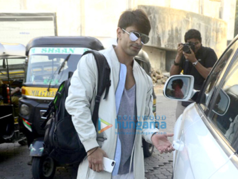 Karan Singh Grover and Bipasha Basu snapped at a spa