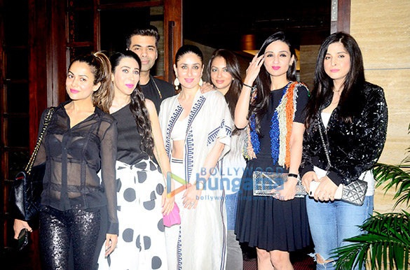 Kareena Kapoor Khan, Karan Johar, Malaika Arora and others grace Amrita Arora's bash