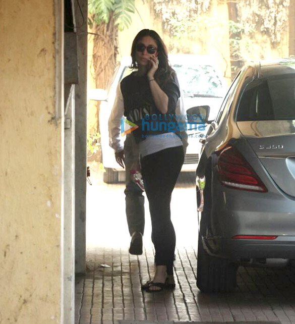 Kareena Kapoor Khan snapped post her gym session