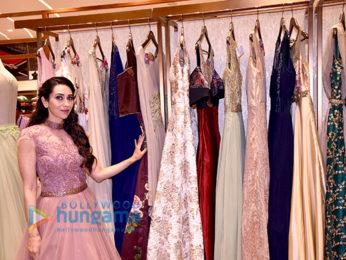 Karisma Kapoor graces the opening of Neeru's showroom at Infinity Malad