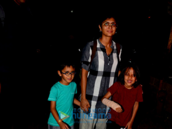 Kiran Rao spotted with her son in Bandra