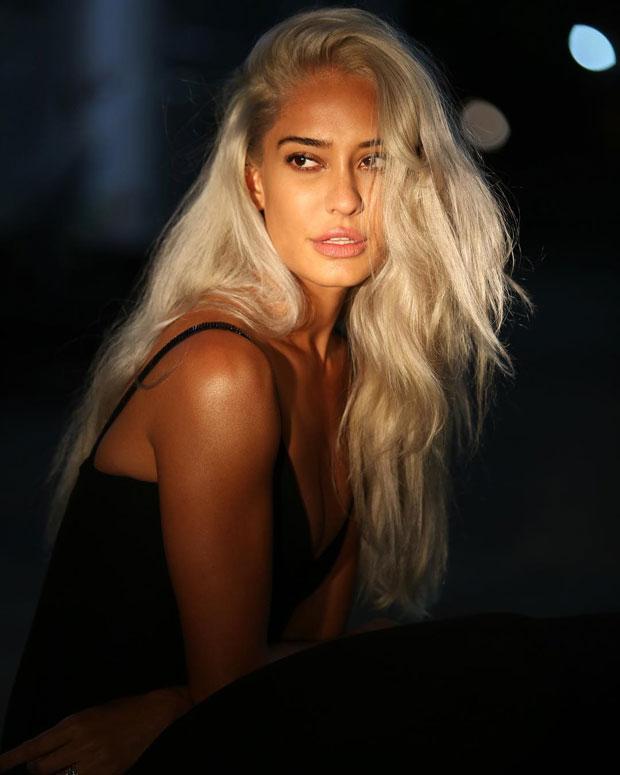 Lisa Haydon gets a stunning makeover; goes platinum blonde-1
